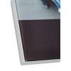 Profil-Vergrößerung und Materialoberfläche