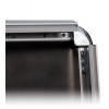 Einfacher Motivwechsel - das 32 mm breite Profil des Klapprahmens lässt sich ganz einfach aufklappen.