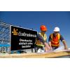 Unsere Material-Empfehlung für Bauschilder: Alu-Dibond weiß, ideal für den Außeneinsatz (Abb. ähnlich) / Bild ©iStockphoto.com/shotbydave