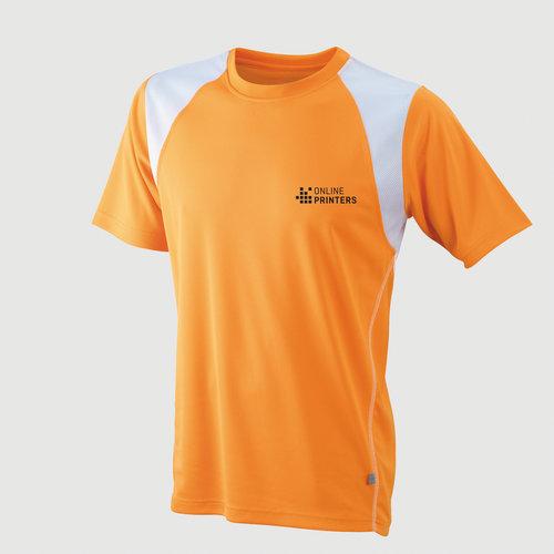 orange / weiß