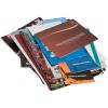 Gedruckt auf Bilderdruckpapier, Offsetpapier oder Recyclingpapier. Optionale Umschlagveredelung auswählbar