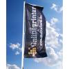 Flagge für Fahnenmasten mit Ausleger