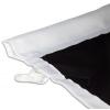 Für Fahnenmasten mit Ausleger – gesäumter Hohlsaum für die Auslegerstange (max. 3 cm Durchmesser)