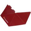 4-seitige Pyramide, fertig gestanzt, plano liegend geliefert