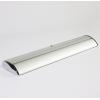 Stabile Aluminiumkassette in Chromoptik, schwere Ausführung, daher keine zusätzlichen Klappfüße nötig (Abb. ähnlich)