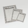 Eine klassische Urkunde, schlicht und edel
