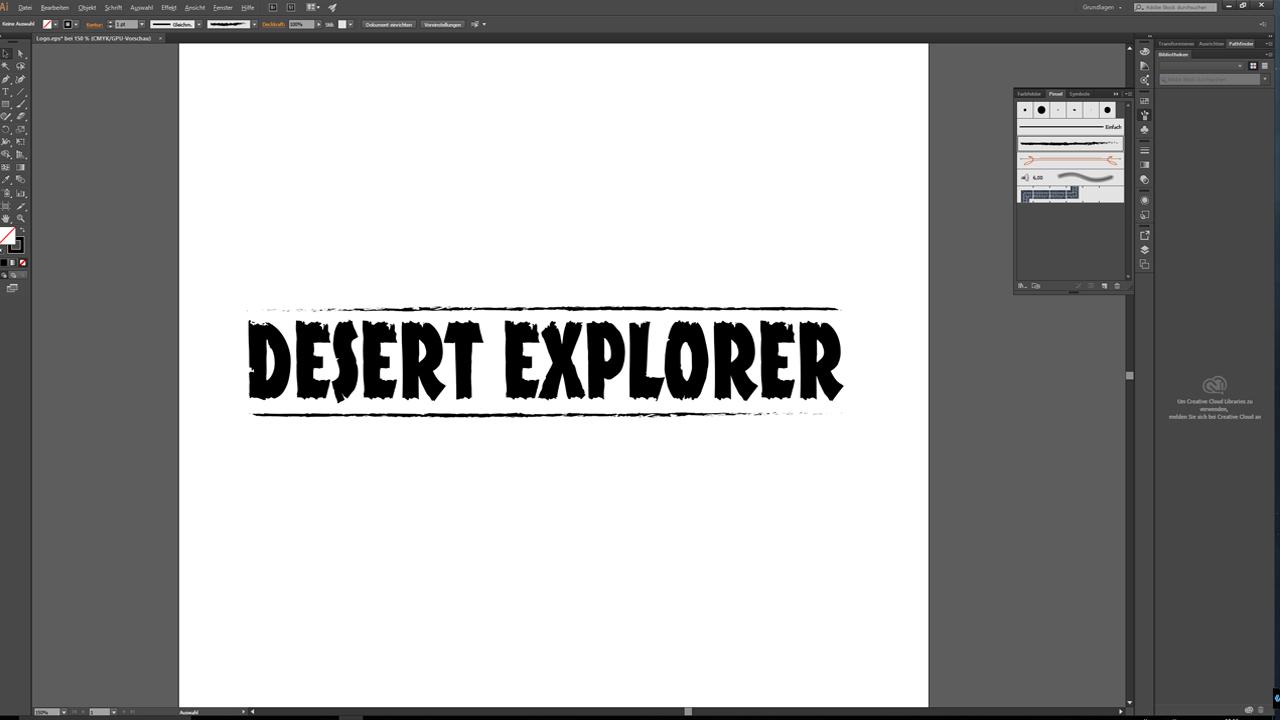 Tutorial: Photoshop, Illustrator oder InDesign - Logo-Design in Illustrator