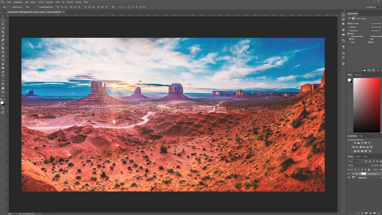 Tutorial: Photoshop, Illustrator oder InDesign - Bildbearbeitung in Photoshop