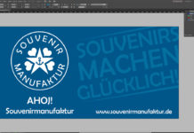 Banner-erstellen-InDesign-Tutorial: fertiges Banner-Design