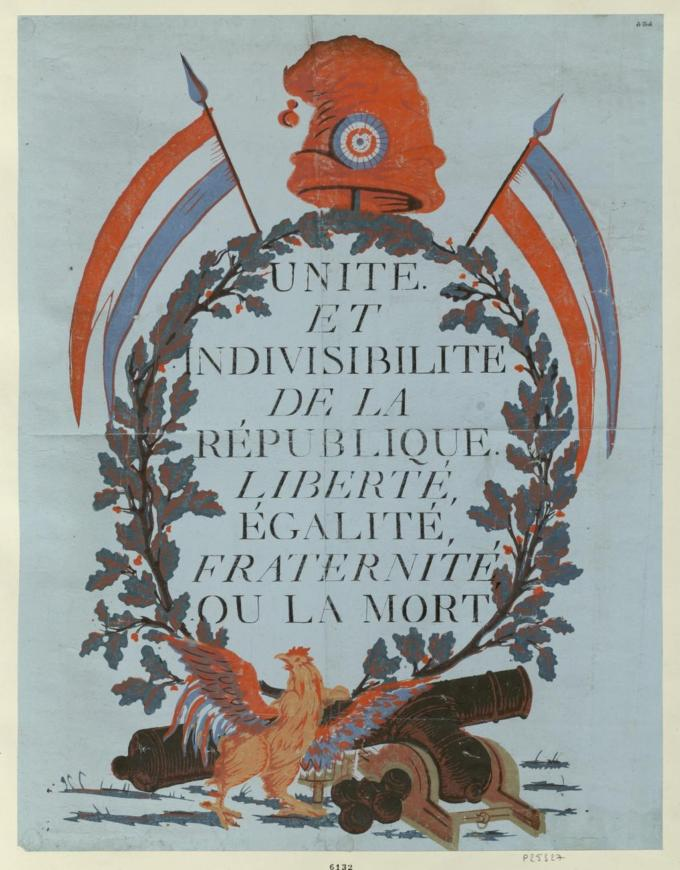 Geschichte-des-Plakats-Französische-Revolution