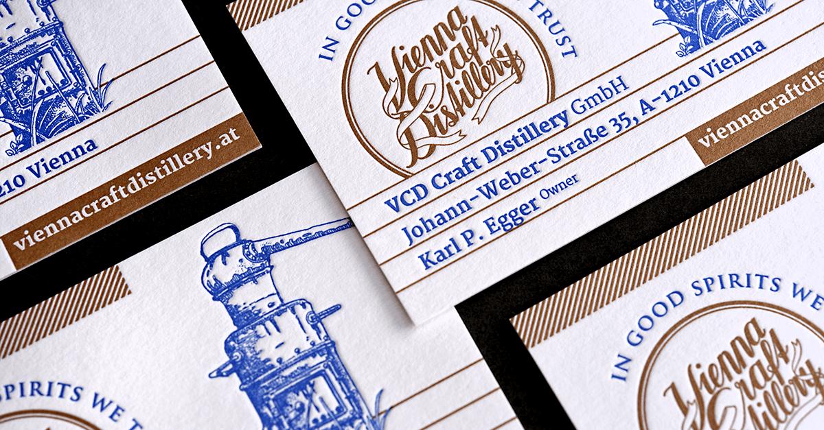Letterpress Visitenkarten Für Fast Alle Sinne