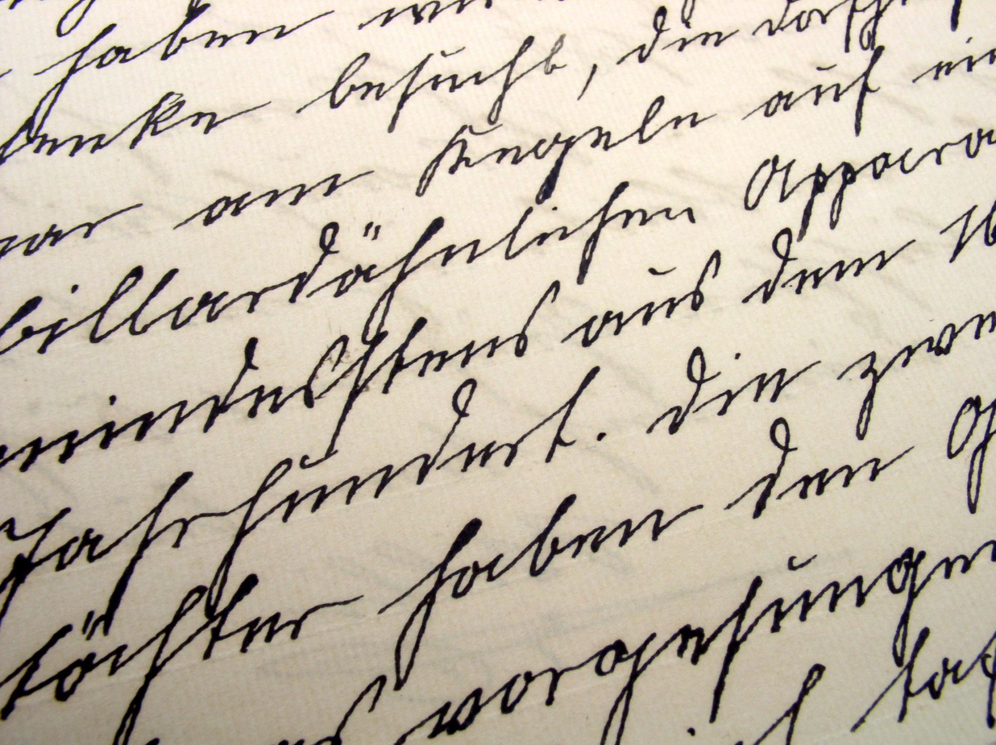 Altdeutsche Schreibschrift