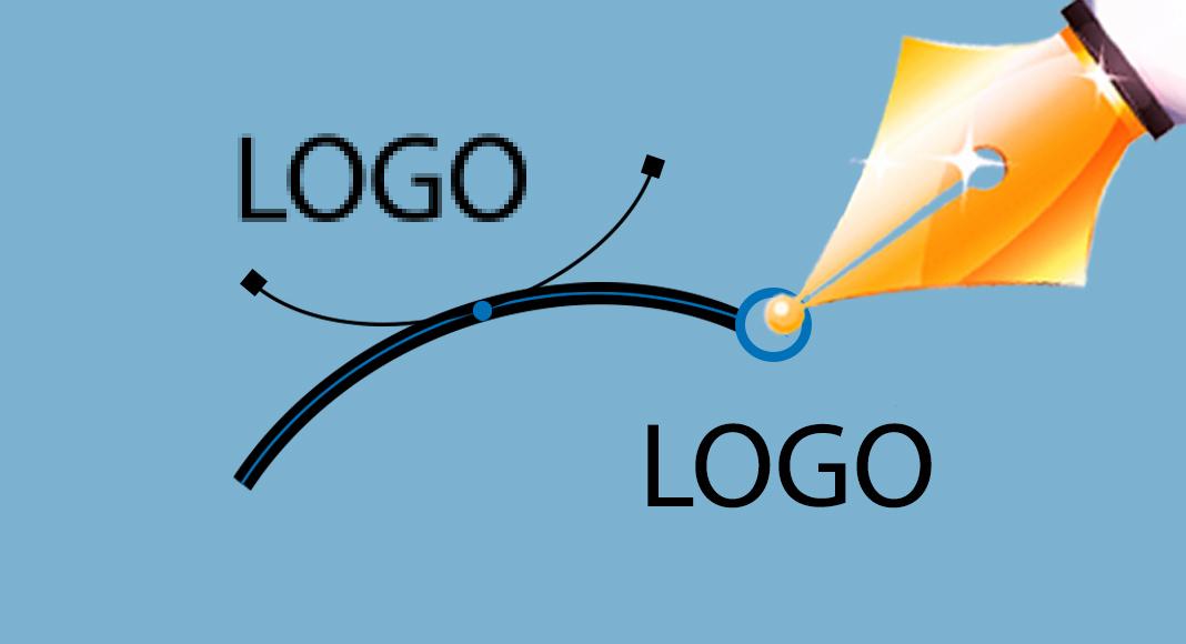 vektorgrafik erstellen bilder logos pixel richtig umwandeln faust vektor logo