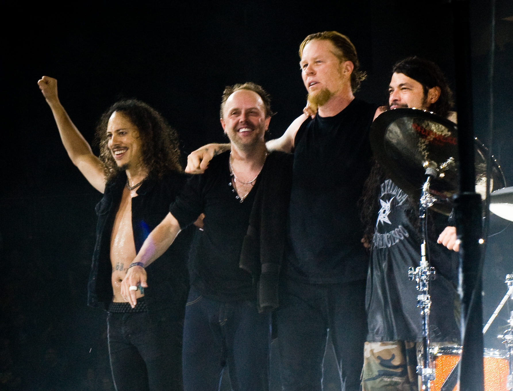 Metallica at The O2 Arena London 2008