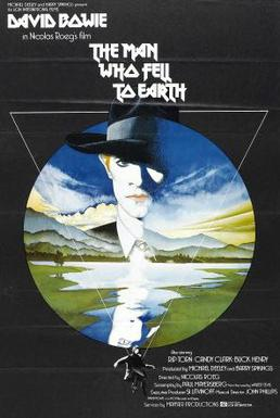 Filmplakat von The Man Who Fell to Earth